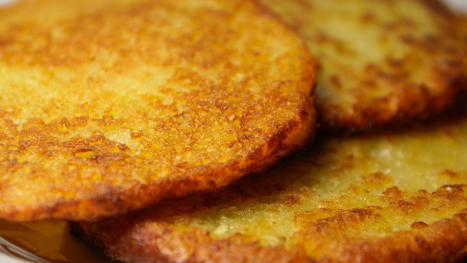 Драники из вареного картофеля рецепт пошагово